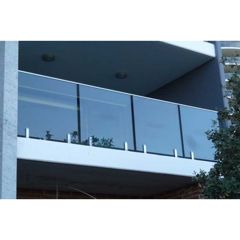 970mm Height Balustrade - Heat Soaked Glass